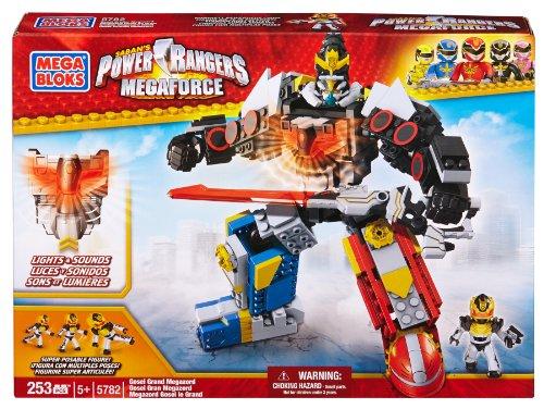 Mega Bloks Power Rangers Megaforce Gosei Grand Megazord