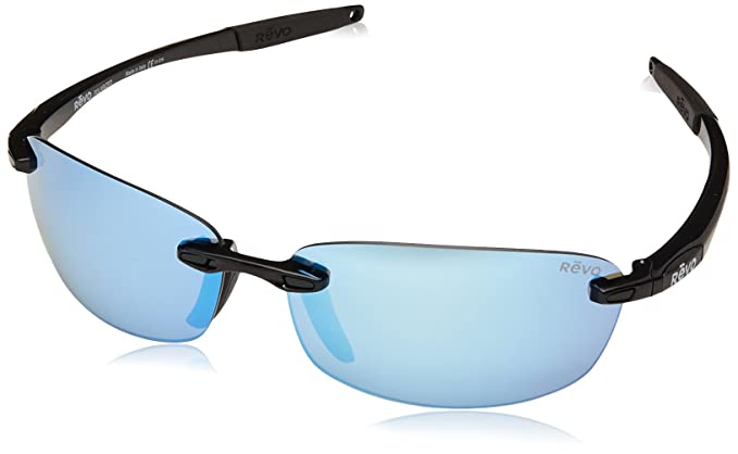 e8a1173eec Amazon.com  Revo Descend E RE 4060 01 BL Polarized Rectangular ...