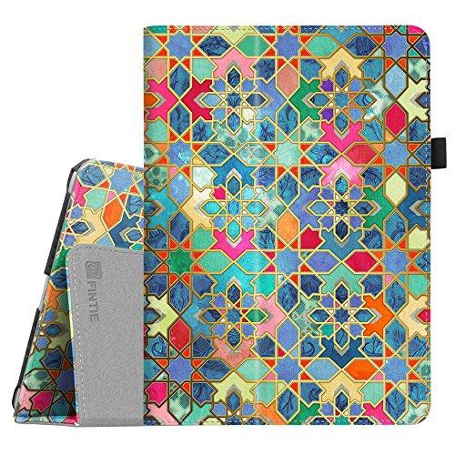 Fintie iPad 9.7 2018/2017, iPad Air 2, iPad Air Case - [Corner Protection] Premium Vegan Leather Folio Stand Cover, Auto Wake/Sleep for iPad 6th / 5th Gen, iPad Air 1/2, Bohemian Ledge