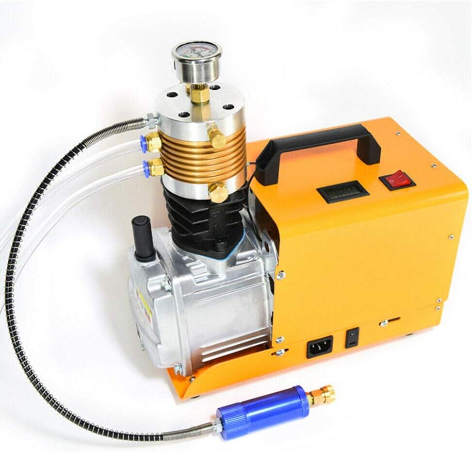 Bomba de compresor de aire de alta presión - 300BAR 30MPA 4500PSI PCP Compresor rápido Compresor de aire eléctrico para pistola de aire comprimido HPA Airsoft Paintball Airgun Rifle PCP