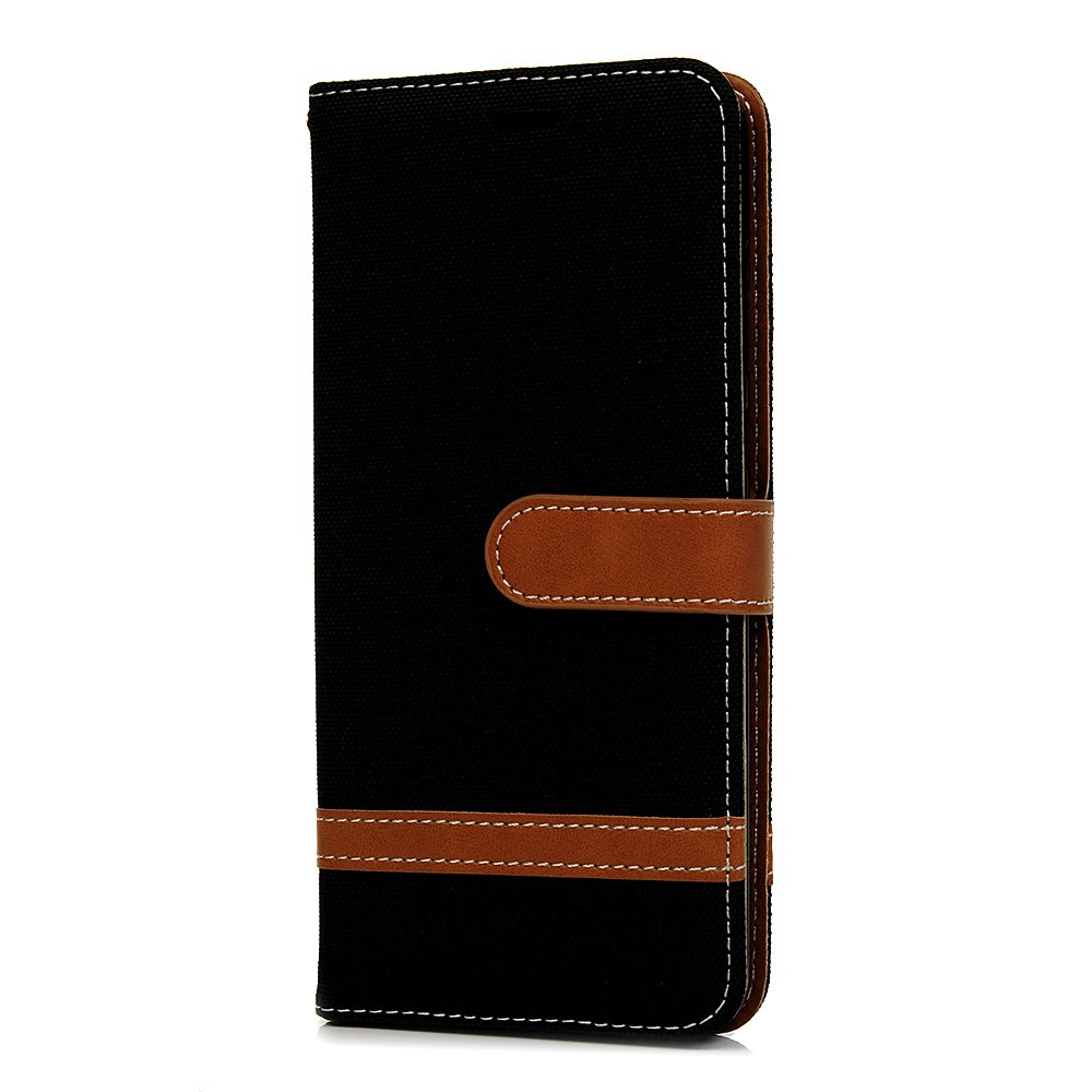 Tophung Huawei P20 Pro - Funda de piel con tapa para Huawei P20 Pro (piel sintética, función atril, tarjetero y ranura para identificación), Verde oscuro