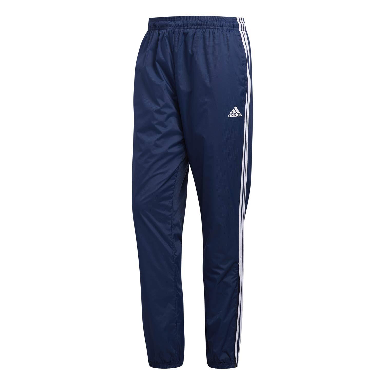 adidas Mens Athletics Essential 3 Stripe Jogger Pant, Collegiate Navy, Large by adidas
