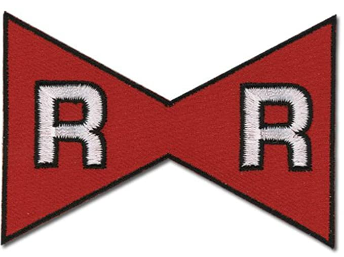 e46c6f2ba5a Amazon.com  Dragon Ball Z The Red Ribbon Army Logo Patch  Clothing