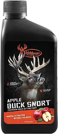 Wildgame Innovations Buck Snort Apple Deer Supplement 40oz, Red