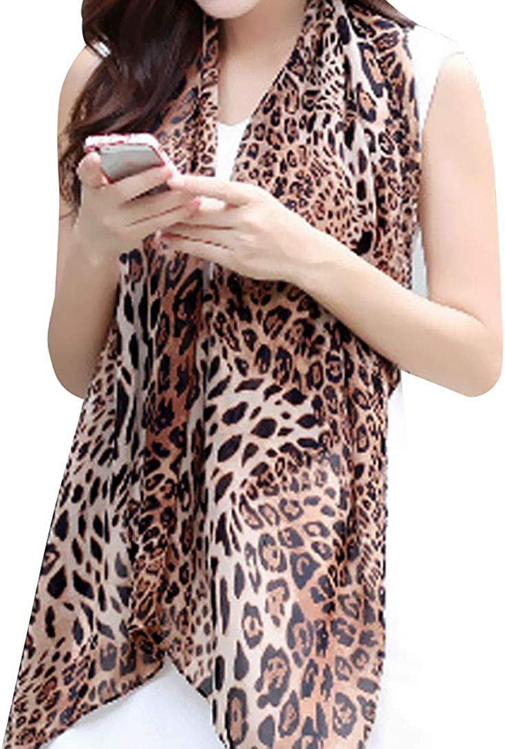 Leopard Print Scarf...