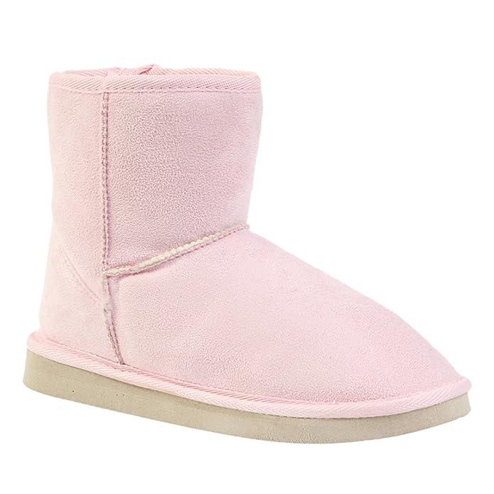 Damen Stiefeletten Mit Schleife Winterstiefel Warm Winter Boots Klassisch Snow Schuhe Beige 40 Yiiquan UOn1zGUg