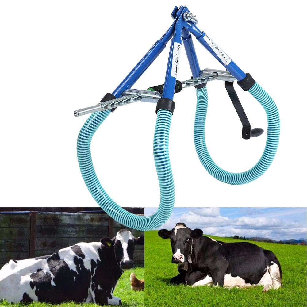 Cow Hip Lift Stainless Steel Calving Milking Birthing Lame Cow Stand Up Assist by Estink-
