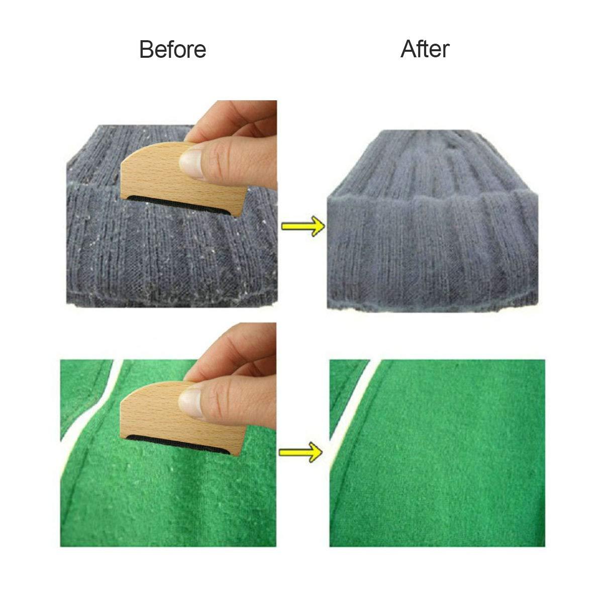 Peigne /à Laine,Tangger Peigne Tissu Anti Bouloches pour Nettoyage Pull,Pulls Laine,Cachemire,Draps Coton,Costume,5 PCS