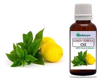 Amazon Com Aceites Esenciales De Aceite De Limón Verbena De Radanya 100 Aceites De Aromaterapia Natural Puro 3 Ml 1000 Ml Beauty
