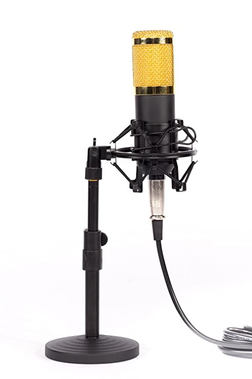 alneo Essentials condensador de micrófono Set Incl. Shock Mount ...
