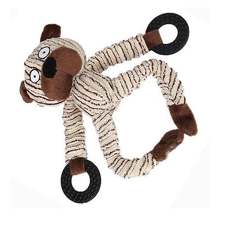 Linda Forma Animal de Pana, YouGer Durable Mascota Perro Gato Peluche Masticar Juguete, Masticar