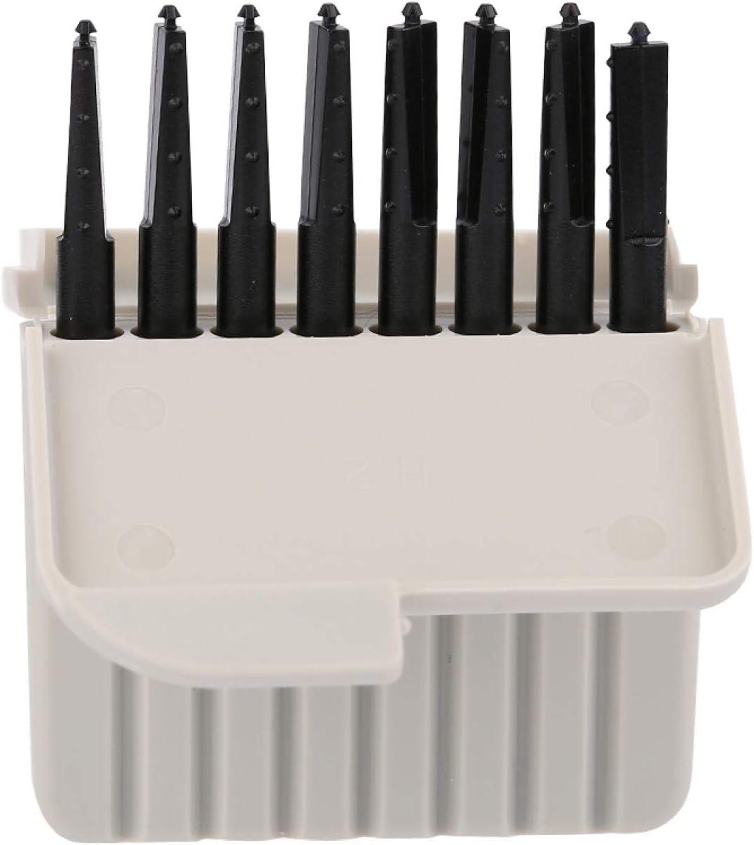 protezione per il cerume in plastica facile da installare per apparecchi acustici Protezioni acustiche resistenti allolio 8 pezzi//set Filtro per apparecchi acustici impermeabile