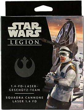 Star Wars: Legion Fantasy Flight Games FFG Allianz 1.4 de FD de Laser geschütz de Team Ampliación (de/en): Amazon.es: Juguetes y juegos