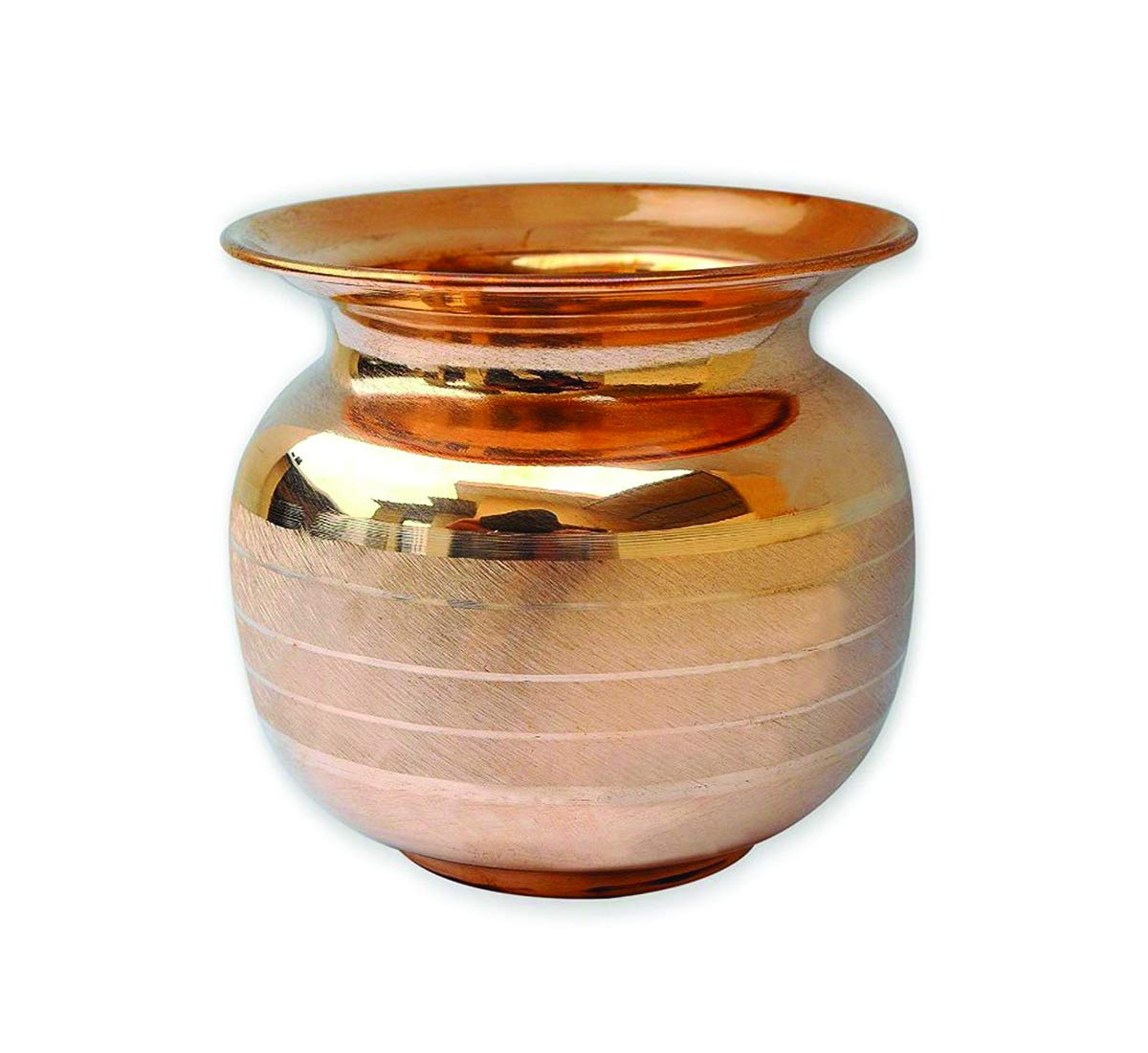Amazon.com | 100% Pure Copper Luxury 16.90 Oz Lota/Pot ...