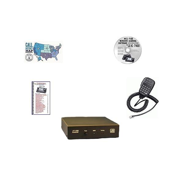 Amazon com: Icom IC-7100 Accessory Pack Bundle - - WCS 7100