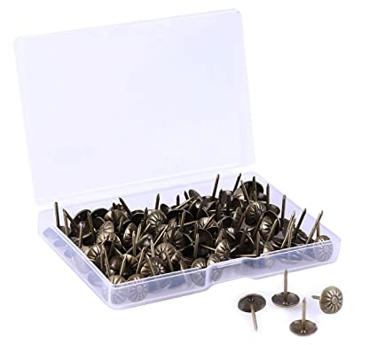 Merveilleux Shapenty 120PCS Vintage Decorative Upholstery Tacks DIY Craft  Flower Pattern Head Furniture Sofa Rivet Nails