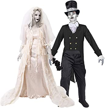 I LOVE FANCY DRESS LTD Novia DESCONSOLADA Fantasma Disfraz DE ...