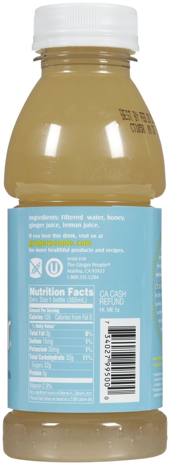 The Ginger People Ginger Soother - 12 oz - 24 pk by The Ginger People (Image #3)