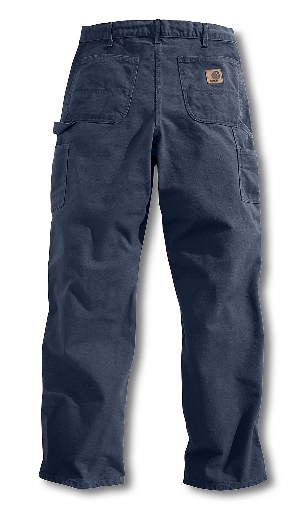 Carhartt Men's Washed Duck Work Dungaree Pant,Petrol Blue,29W x 32L