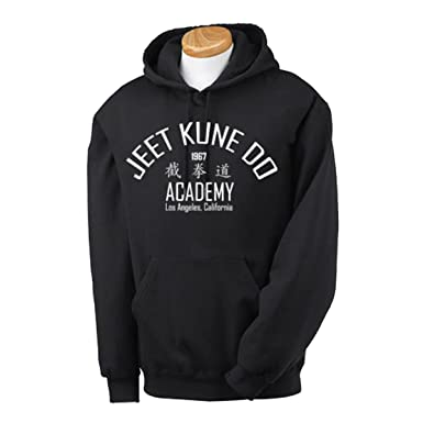 Jeet Kune Do Bruce Lee Hoodie Martial Arts Kung Fu Karate Enter The Dragon   Amazon.co.uk  Clothing 7cdc43a348