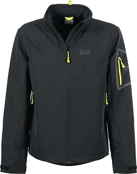 commedia restate in casa  Jack Wolfskin MUDDY PASS XT JACKET MEN black: Amazon.de: Bekleidung