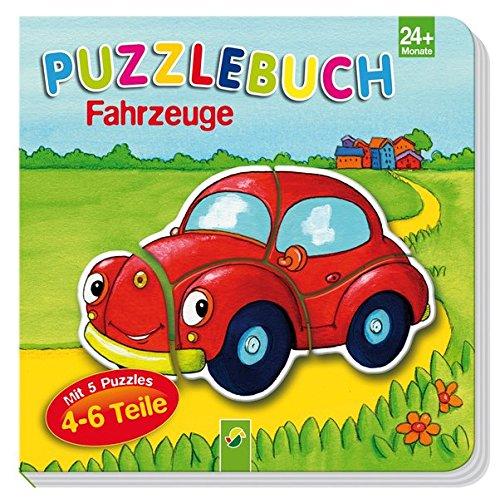 Puzzlebuch Fahrzeuge: Mit 5 Puzzles á 4-6 Teile