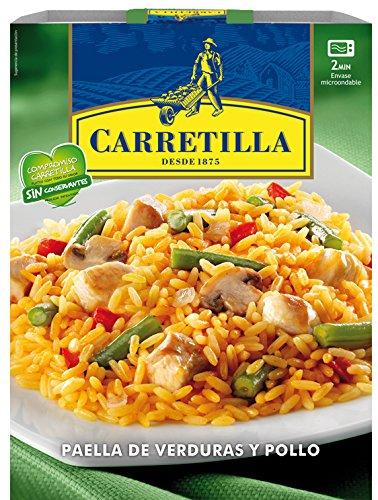 Carretilla - Paella De Verduras Y Pollo, 250 g: Amazon.es: Alimentación y bebidas