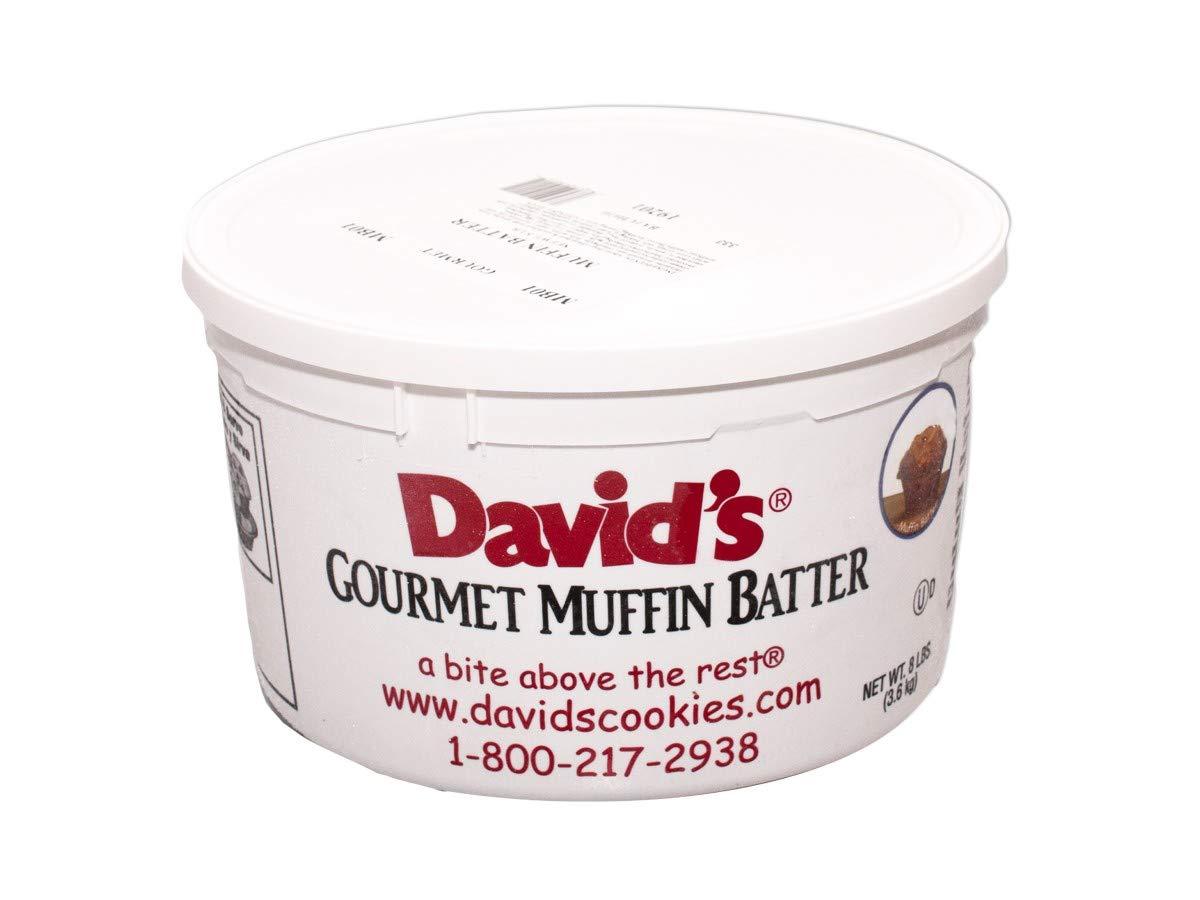 Davids Lemon Poppyseed Muffin Batter, 8 Pound -- 2 per case.