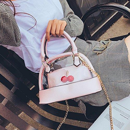 sac sac de Femmes gelée à transparent à sac bandoulière à d'été sac coquille main bandoulière YRSSnF