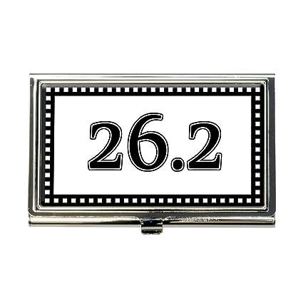 Marathon Credit Card Login >> Amazon Com Marathon 26 2 Runner Business Credit Card Holder Case