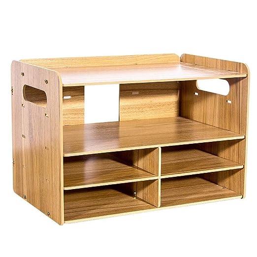 Carpeta de madera Caja de almacenamiento de escritorio desmontable ...