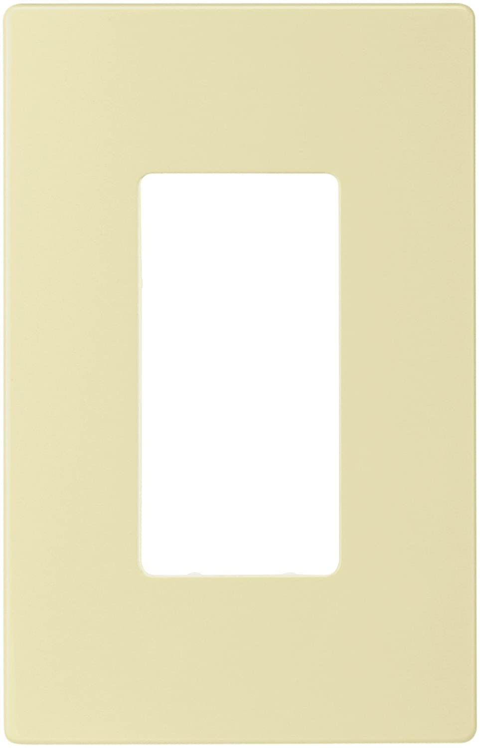 Eaton Pjs26w Decorator Screwless Wallplate 1 Gang White Cooper Wiring Wall Plates Devices
