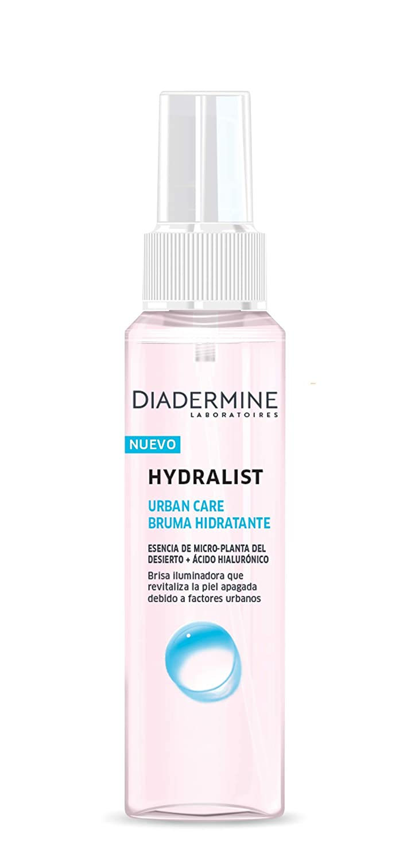 Diadermine - Pack Hydralist Urban Care, Crema de Día + Bruma Hidratante, 150 ml (50 ml + 100 ml)