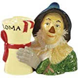 3.25 Inch Wizard of Oz Scarecrow and Diploma Salt and Pepper Shakers