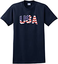 ThisWear USA American Flag Stars and Stripes T-Shirt