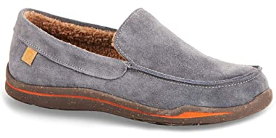 80c9729f526 Amazon.com | Acorn Men's Ellsworth Suede Moc Slipper | Shoes