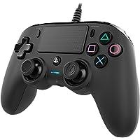 Nacon PS4OFCPADBLACK, Compacte Controller Voor PS4, Zwart, 17 x 20.5 x 6.5 cm