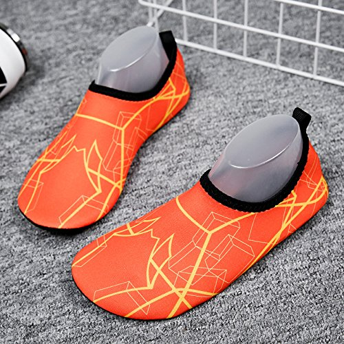 playa luz pegada azul Zapatos y descalzos rápido de pies la secado SK13 negro natación piel calzado zapatos de amantes natación Lucdespo zapatos wqxtX6016U