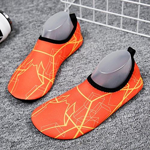 azul natación descalzos pegada pies calzado la Lucdespo zapatos natación negro secado Zapatos de zapatos de piel y SK13 rápido luz playa amantes 1w4Uw6qxP