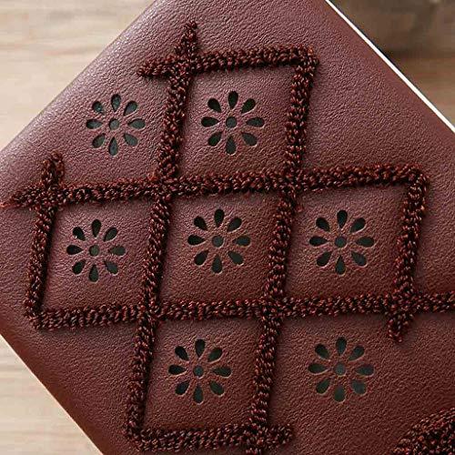 De Mano Moda Sylar Clutches Bolsode Bolso Bolsos Simple Casual Y Impermeable Café Monedero Mujer Embrague Carteras RqnA5