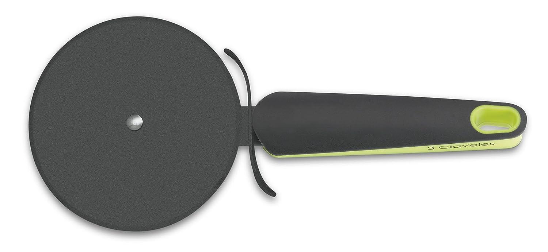 3 Claveles 4613 - Cortapizzas Antiadherente Verde 23 cm