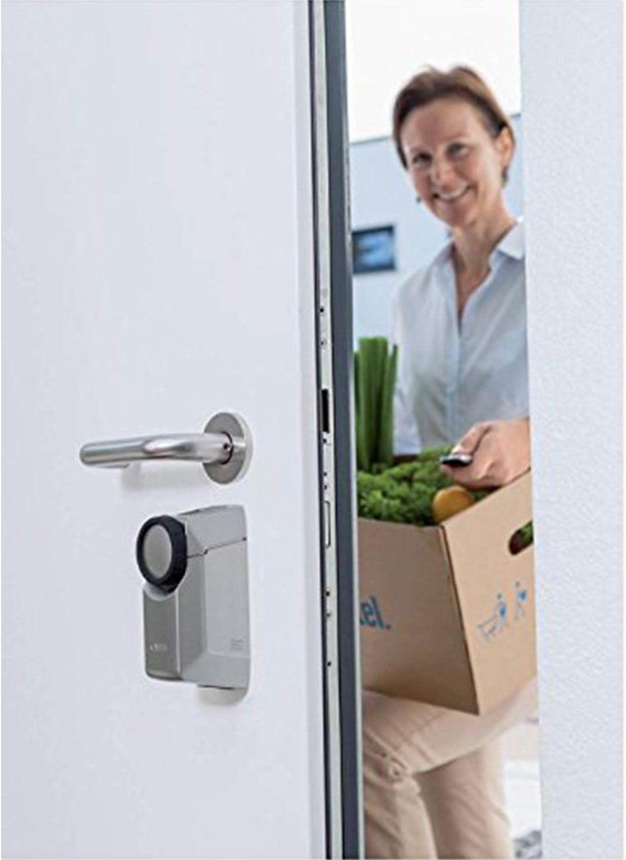 ABUS 82967 CFA3010 S Mecanismo para cerradura de puerta color plateado