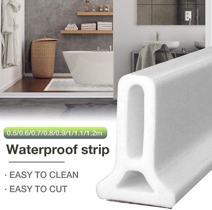 Barrera de Ducha, baño con tapón de Agua, Bloqueador de Agua a Prueba de Agua, hogar Mejora Dropshiping: Amazon.es: Coche y moto