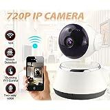 Monitor del bebé, TianranRT Inalámbrico 720p pan tilt red de seguridad de vigilancia CCTV IP cámara de visión nocturna WiFi Webcam