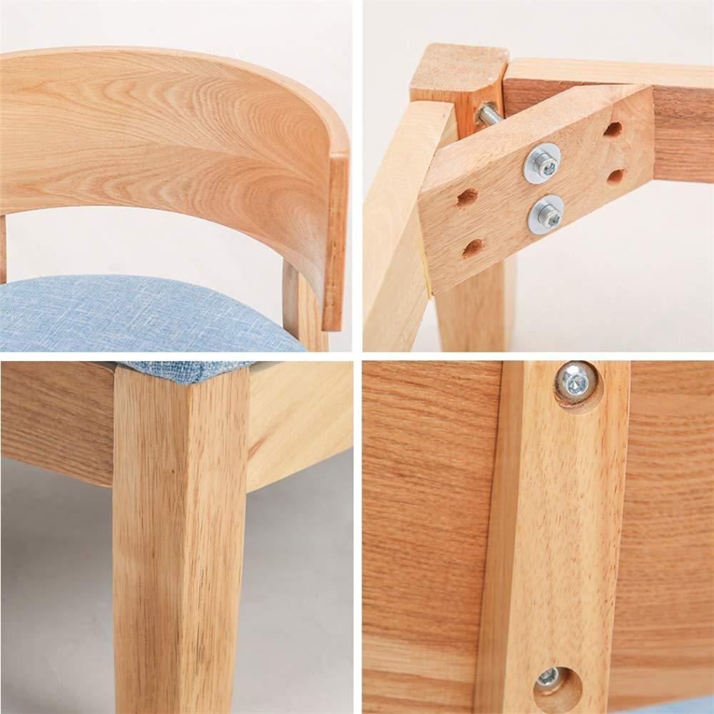 Enkelt massivt trä enkel soffa stol vardagsrum matsal sovrum balkong, blå, rosa Grått