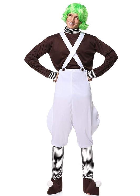 Nayayar Halloween, Traje de Hombre Adulto de Chocolate Cos ...