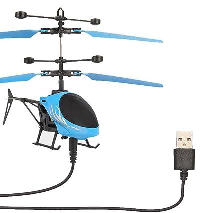 helicóptero juguete para niños Sannysis mini helicóptero drones ...
