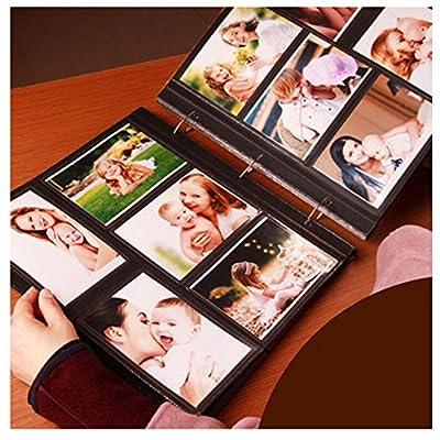 Xerhnan Frame Cover Photo Album 600 Pockets Hold 4x6 Photos
