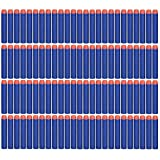 CLOURF 200 Pcs 7.2cm Foam Darts for Nerf N-strike Elite Series (Blue)