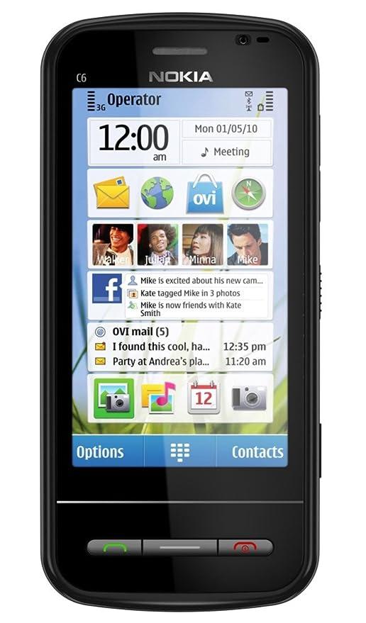 Amazon.com: Nokia C6 desbloqueado teléfono GSM con fácil ...